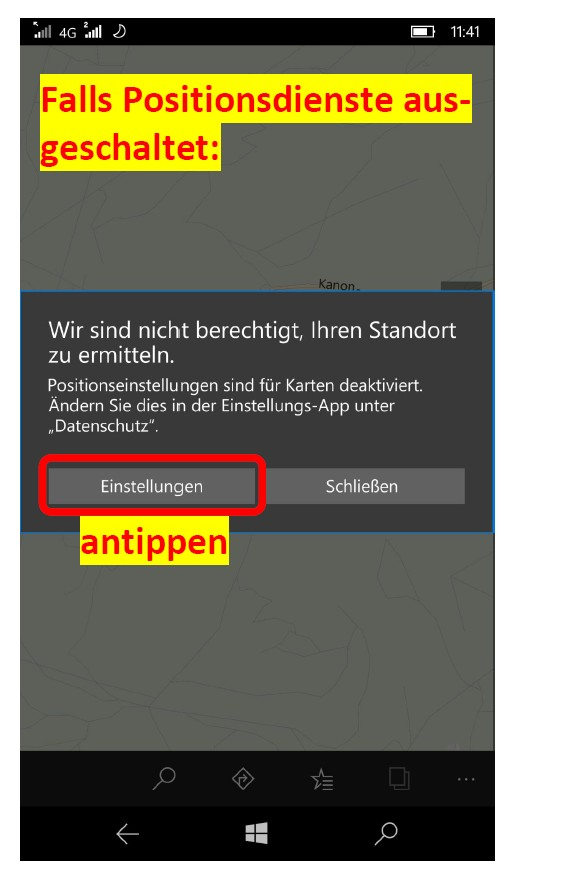 WindowsPhoneKarten 2