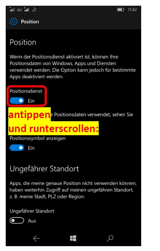 WindowsPhoneKarten 3
