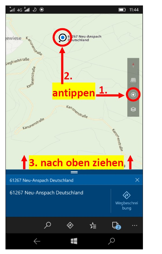 WindowsPhoneKarten 5